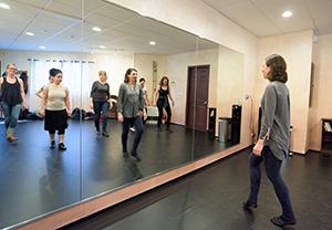 Kieran teaches weekly irish dance classes throughout the year