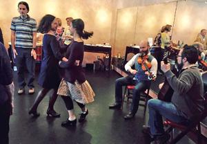 Kieran teaches irish dance workshops and hosts special events