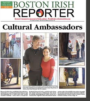 Boston Irish Reporter article about Kieran and Vincent