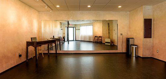 inside view of Kieran Jordan Dance Studio