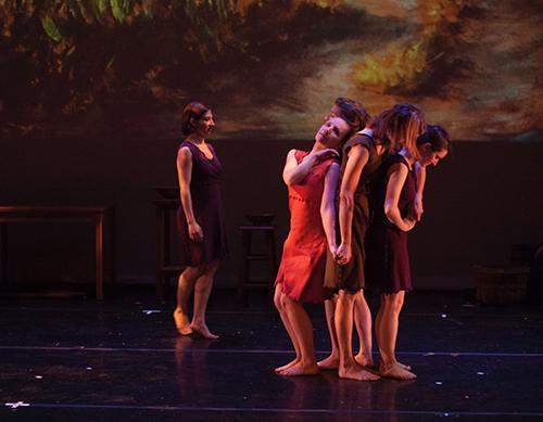 Living Landscape Kieran Jordan original choreography